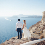 Julia Kaptelova photography Wedding in Santorini | Oia elopement wedding in santorini, santorini wedding photographer, santorini wedding, santorini elopement, santorini, greece, elopement