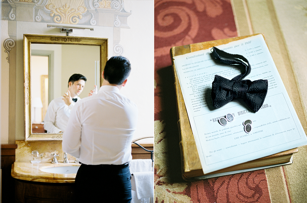 tuscany wedding villa mangiacane by julia kaptelova photography groom getting ready