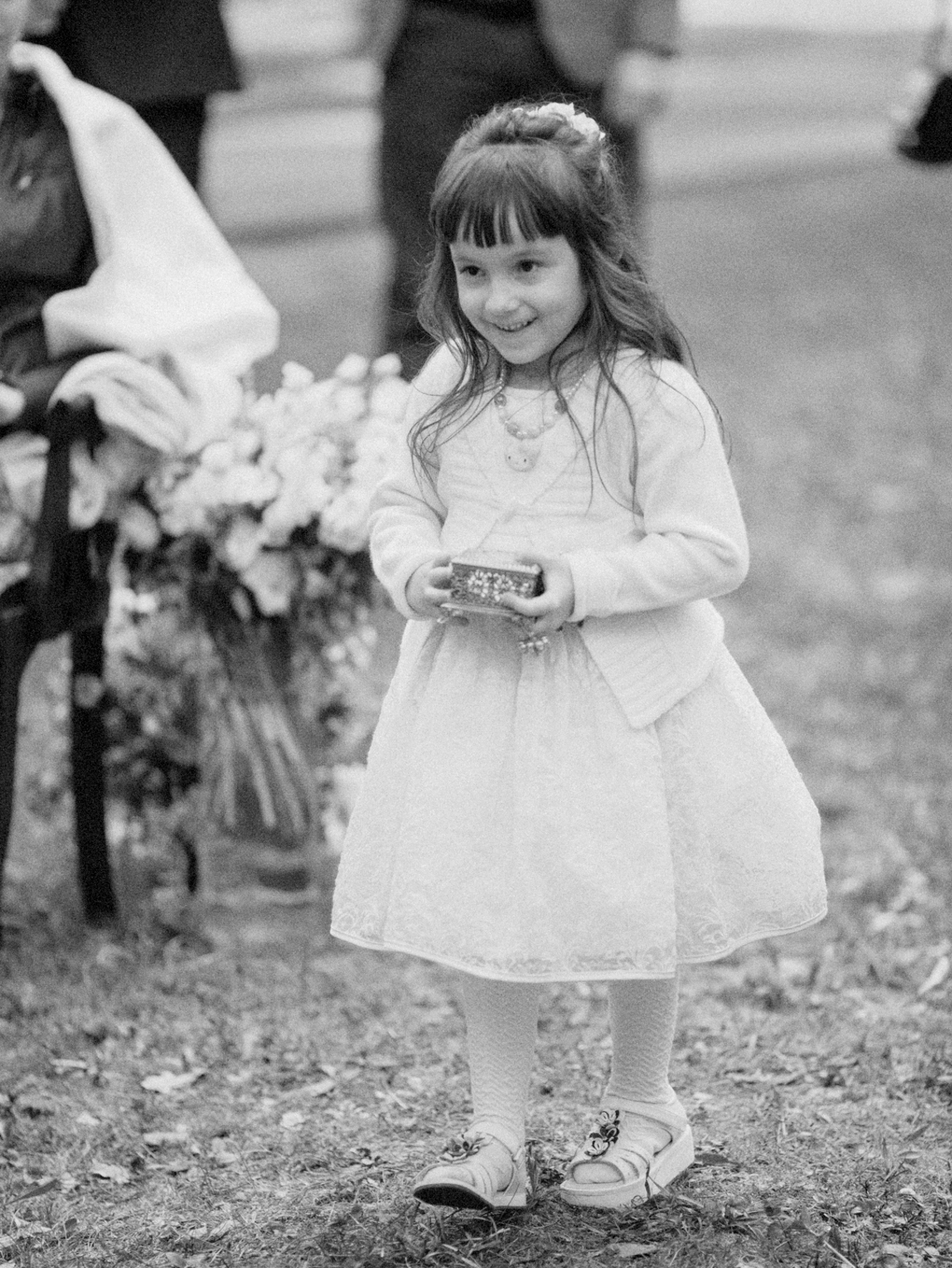 little girl ring bearer