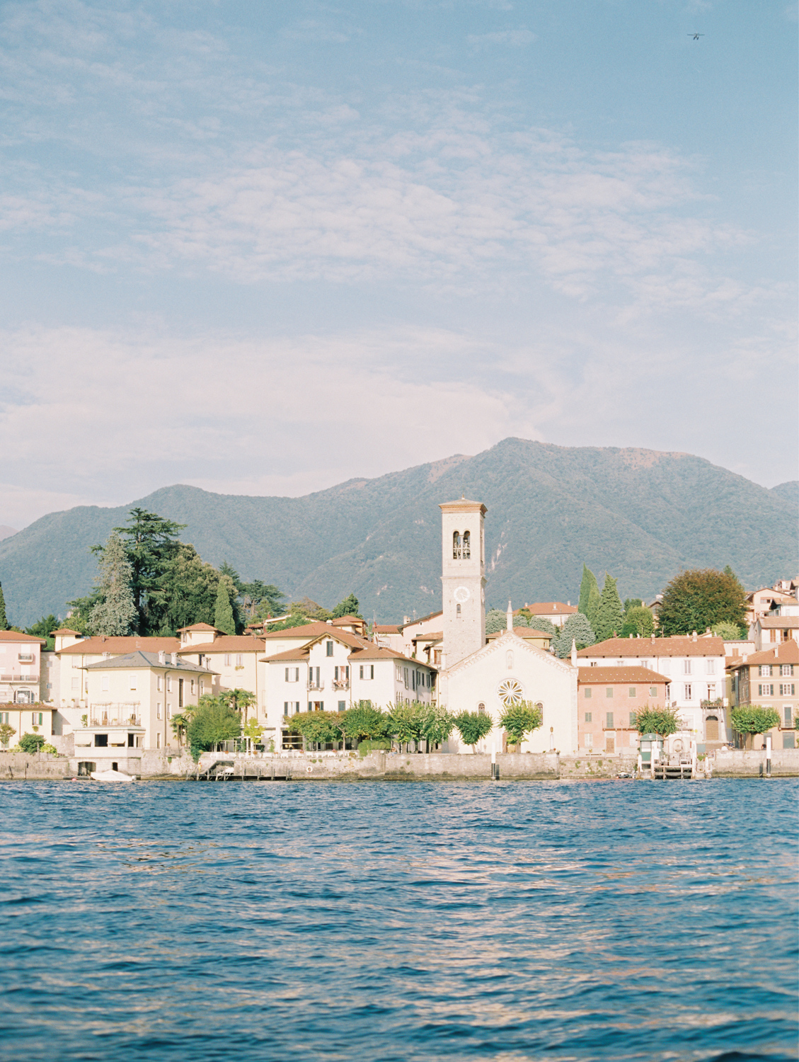 Photo of chapel in Town on Lake Como wedding
