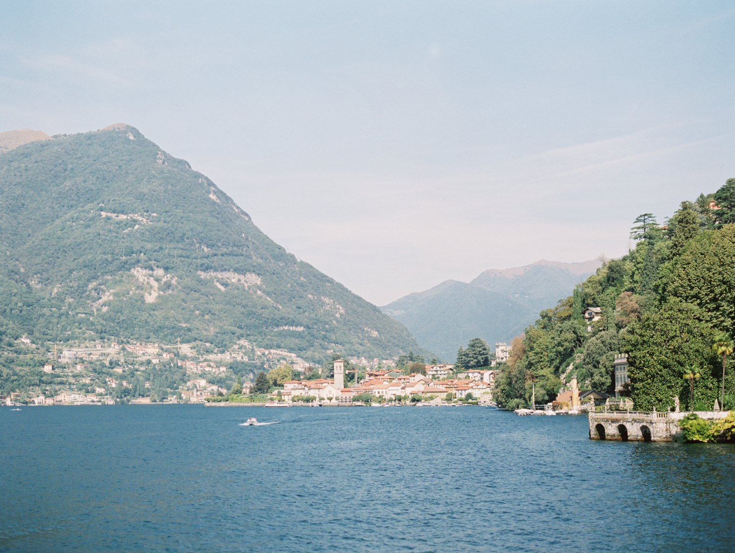 Wedding on Lake Como mountains
