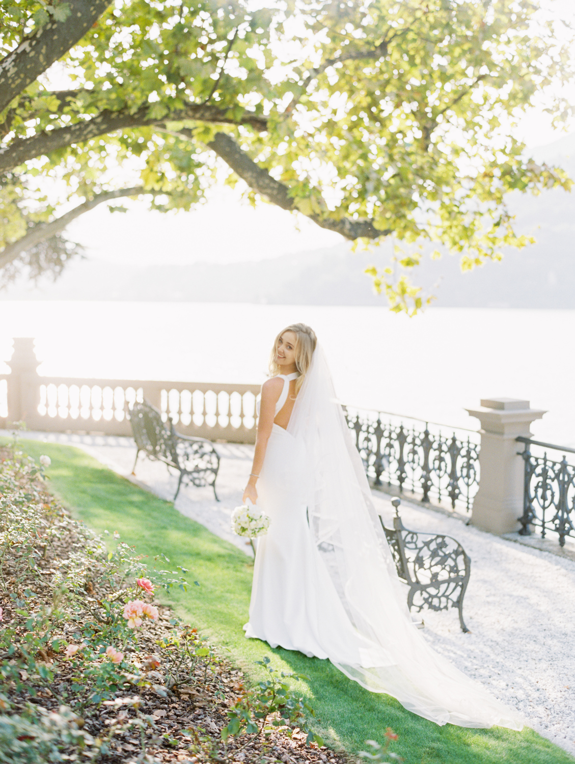 Bride in castadiva resort lago di como Italy